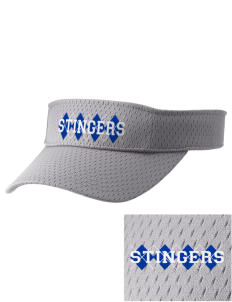 Dover School Stingers Embroidered Woven Cotton Visor