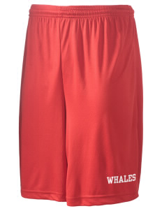 "O B Whaley Elementary School Whales Men's Competitor Short, 9"" Inseam"