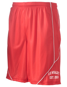 "O B Whaley Elementary School Whales Men's Pocicharge Mesh Reversible Short, 9"" Inseam"