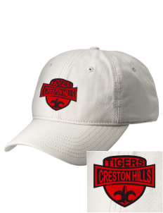 Creston Hills Elementary School Tigers  Embroidered New Era Adjustable Unstructured Cap