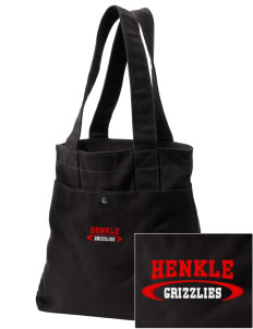 Henkle Middle School Bears Embroidered Alternative The Berkeley Tote