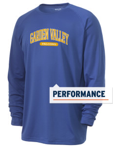 Garden Valley Elementary School Falcons Men's Ultimate Performance Long Sleeve T-Shirt