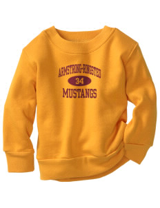 Armstrong-Ringsted Middle School Mustangs Toddler Crewneck Sweatshirt