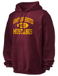 Armstrong-Ringsted Middle School Mustangs Ultra Blend 50/50 Hooded Sweatshirt
