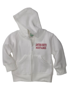 Armstrong-Ringsted Middle School Mustangs Baby Full Zip Hoodie