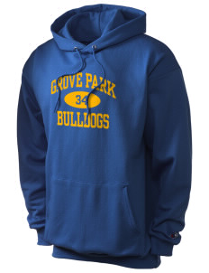 Grove Park Elementary School Bulldogs Champion Men's Hooded Sweatshirt