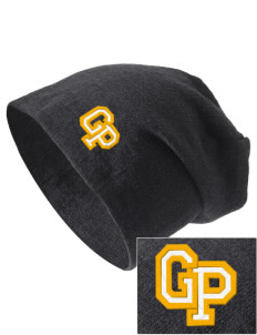 Grove Park Elementary School Bulldogs Embroidered Slouch Beanie