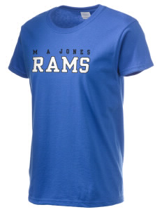 M A Jones Elementary School Rams Women's 6.1 oz Ultra Cotton T-Shirt