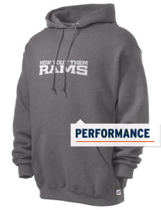 M A Jones Elementary School Rams Russell Men's Dri-Power Hooded Sweatshirt