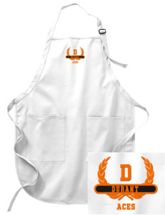 Durant Elementary School Aces Embroidered Full-Length Apron with Pockets