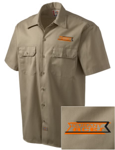 Durant Elementary School Aces Embroidered Dickies Men's Short-Sleeve Workshirt
