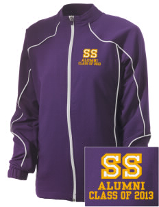 San Saba Intermediate School Armadillos Embroidered Russell Women's Full Zip Jacket