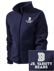 Bandini Elementary School Bears Embroidered Women's Fleece Full-Zip Jacket