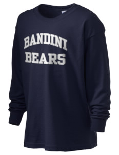 Bandini Elementary School Bears Kid's 6.1 oz Long Sleeve Ultra Cotton T-Shirt