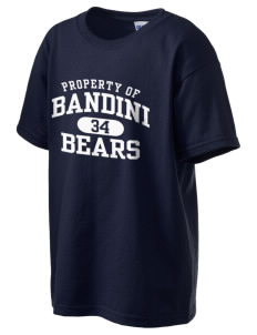 Bandini Elementary School Bears Kid's 6.1 oz Ultra Cotton T-Shirt