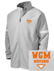 William G Mather Middle School Mustangs Holloway Embroidered Men's Radius Zip Front Jacket