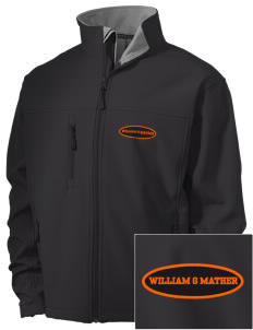 William G Mather Middle School Mustangs Embroidered Men's Soft Shell Jacket