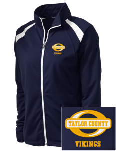 Taylor County Middle School Vikings Embroidered Women's Tricot Track Jacket