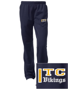 Taylor County Middle School Vikings Embroidered Women's Tricot Track Pants