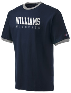 Williams Elementary School Wildcats Champion Men's Ringer T-Shirt