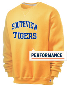 Southview Elementary School Tigers  Russell Men's Dri-Power Crewneck Sweatshirt