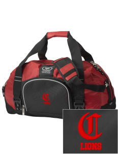 Central Elementary School Lions  Embroidered OGIO Big Dome Duffel Bag