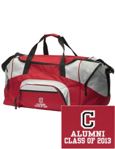 Central Elementary School Lions Embroidered Colorblock Duffel Bag