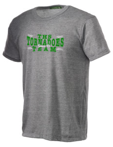 Turner High School Tornadoes Alternative Men's Eco Heather T-shirt