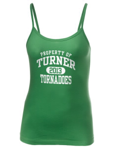 Turner High School Tornadoes Women's Louise Longer Length Tank
