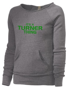 Turner High School Tornadoes Alternative Women's Maniac Sweatshirt