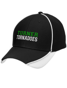 Turner High School Tornadoes Embroidered New Era Contrast Piped Performance Cap