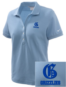 Glenwood Elementary School Grizzlies Embroidered Nike Women's Pique Golf Polo
