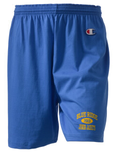 "Blue Ridge Middle School Junior Jackets  Champion Women's Gym Shorts, 6"" Inseam"