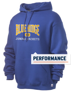 Blue Ridge Middle School Junior Jackets Russell Men's Dri-Power Hooded Sweatshirt