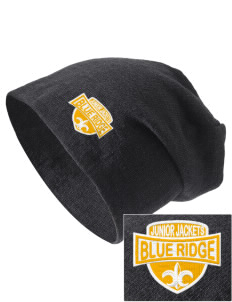 Blue Ridge Middle School Junior Jackets Embroidered Slouch Beanie