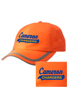 Cameron Elementary School Chargers  Embroidered Safety Cap