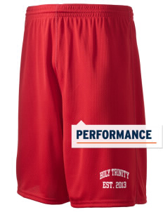 "Holy Trinity School Crosses Holloway Men's Speed Shorts, 9"" Inseam"