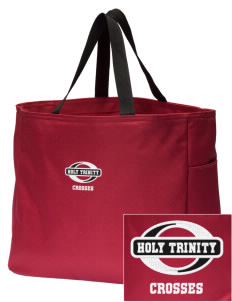 Holy Trinity School Crosses Embroidered Essential Tote