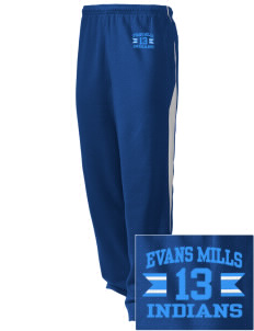 Evans Mills Primary School Indians Embroidered Holloway Men's Pivot Warm Up Pants