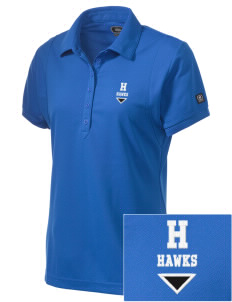 Holder Elementary School Hawks Embroidered OGIO Women's Jewel Polo