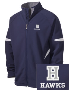 Holder Elementary School Hawks Holloway Embroidered Men's Radius Zip Front Jacket