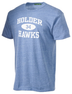 Holder Elementary School Hawks Alternative Men's Eco Heather T-shirt