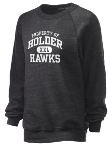 Holder Elementary School Hawks Unisex Alternative Eco-Fleece Raglan Sweatshirt