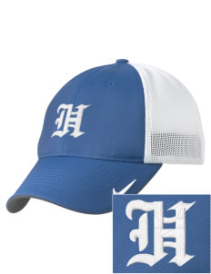 Holder Elementary School Hawks Embroidered Nike Golf Mesh Back Cap