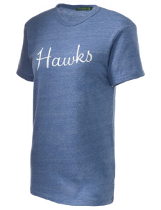 Holder Elementary School Hawks Embroidered Alternative Unisex Eco Heather T-Shirt