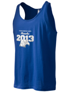 Holder Elementary School Hawks Men's Jersey Tank