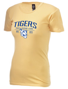 Trinity Lutheran School Tigers Alternative Women's Basic Crew T-Shirt