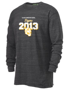 Tilton Elementary School Tigers Alternative Men's 4.4 oz. Long-Sleeve T-Shirt