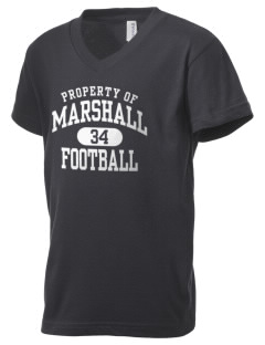 Marshall High School The Phoenix Kid's V-Neck Jersey T-Shirt