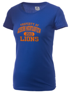Auburn Mountainview High School Lions  Russell Women's Campus T-Shirt